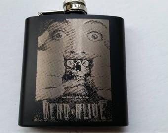 Dead Alive 6oz Flask