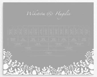 Family Trees, 5 Generations, Family Tree Print, Personalized, Generation Tree, Family Tree Chart, Baptism Gift, Genealogy Art, Släktforska