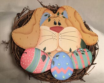 Easter Bunny Mini Wreath