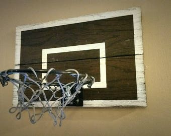 Man Cave Or Menu0027s Office Decor, Gift For Pastor. Vintage Basketball  BACKBOARD ONLY.