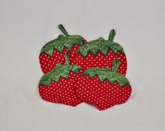 Strawberry Potholders