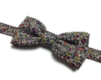 bow tie, bowtie, BowTie liberty, flowered, BowTie bow tie pre tied