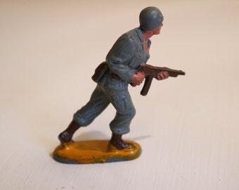 Vintage 60 Guilbert France soldier figurine