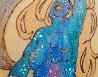 Moon Goddess - by Yarrish Arts