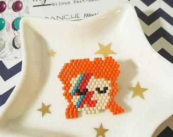 "Brooch ""Ziggy Stardust - David Bowie"""