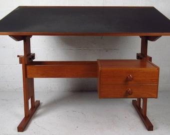 Danish Modern Drafting Table TREKANTEN Denmark