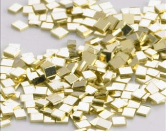 20 of Solid 14k Gold solder chips for jewelry repair melt  at 1340 degrees easy density