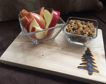 Rustic Pine Serving Board - Small
