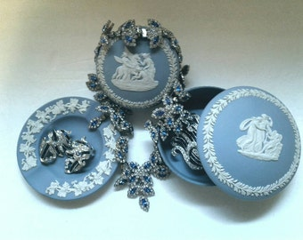 Free Shipping Vintage Wedgewood Three piece set