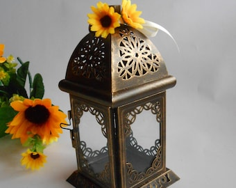 Set of 10 Rustic Lantern, Rustic Wedding Lighting, Moroccan Lantern, Wedding Lantern,Candle Holder,Wedding Centerpiece, Christmas Decoration