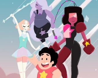 Steven Universe Illustrations