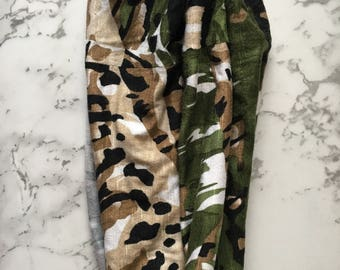 Forest Green and Brown Headband-Yoga-Athletic