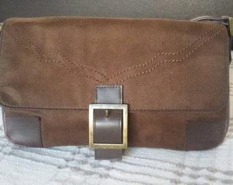 Brown leather bag, Handbag, Vintage bag, Shoulder bag