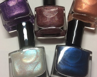 New! Nail polish lacquer color shifting halo
