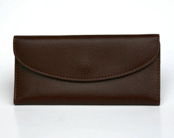 Womens Wallet, Leather Wallet, Brown Wallet,  Brown Purse