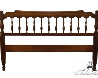 PENNSYLVANIA HOUSE Solid Cherry Full Size Spindle Headboard Mt Vernon Finish 4647