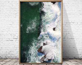 Sea Photography Sea Print Beach Print Beach Photography Beach Art Ocean Print Ocean Wall Art Ocean Photography