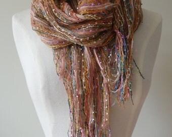 Multicoloured vintage shawl