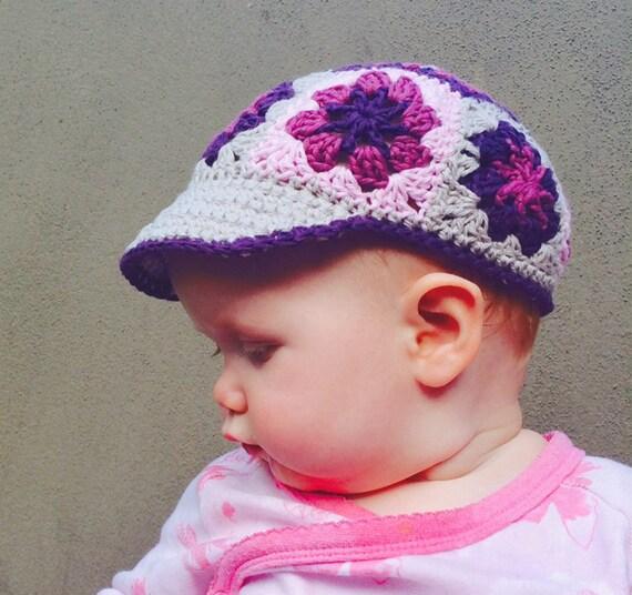 Crochet PATTERN Crochet VISOR hat pattern for baby Sun visor