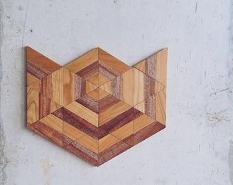"""Wood wall art - """"TULIP"""" - wooden wall art, wood wall decor, wooden wall decor, modern wall art,modern wood art"""