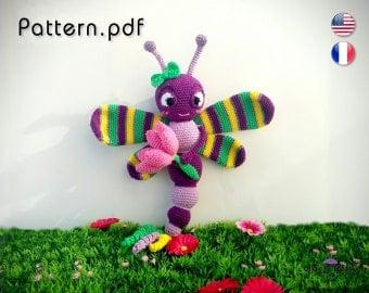 Pattern - Dragonfly Phoebe