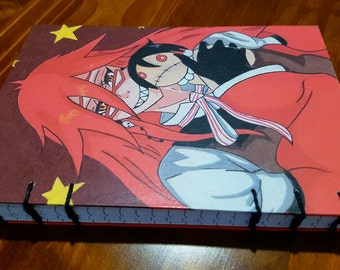 A5 Original Drawing Grell Sutcliffe Notebook