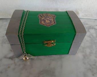 Harry Potter, FULL!!, Harry Potter Jewelry, Harry Potter Inspired Trunk, Harry Potter Chest, Hogwarts Box, Harry Potter, Hogwarts Trunk