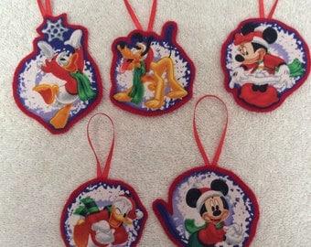 Disney Christmas Ornaments-Mickey, Minnie, Donald and Pluto!