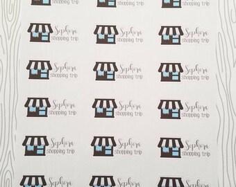 Sephora Shopping Trip Markers (Set of 24) Item #519