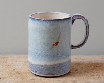Mug grand plongeur bleu