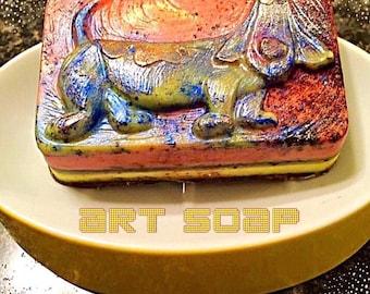 VEGAN SOAP,dog soap,dog collar,dog tag,dog,dog bed,dog bandana,dog lover,dog decor,dog art,dogs,happy dog,natural soap,soap favor,good dog
