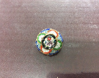 Very ornate vintage button from anywhere between the 20s and 40s