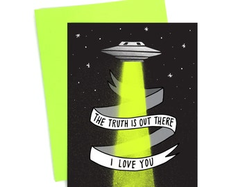 Card // The Truth is Out There // Foil Card