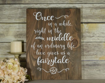 Rustic Wooden Wedding Signs - Rustic Wedding Signs - Wedding Reception Signage - Signs for a Wedding - Pallet Signs - Wedding Quote Signs