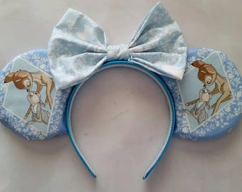 Blue Bambi and Thumper ears