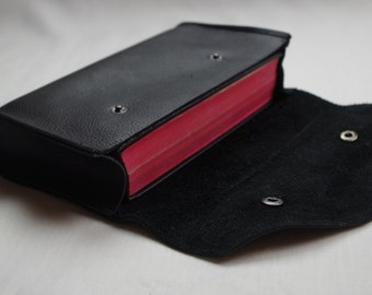 Genuine leather missal/book pouch
