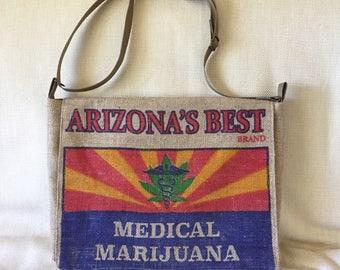 Medical Marajuana Messenger Bag