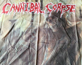 Cannibal corpse ,1993 official flag, a piece of history, for true collectors of the fantastic cannibal corpse !!!