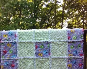 Monster rag blanket