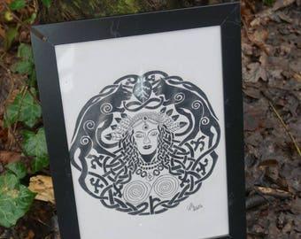 Original Freya drawing