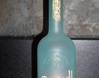 Beach Vodka Bottle Light Lamp