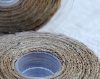 Jute String 1mm (PER METRE) - Ivory or Natural