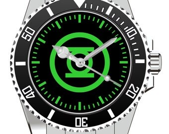 Kiesenberg Green Lantern Comic DC Universum Geschenk Geschenkidee Uhr 1242