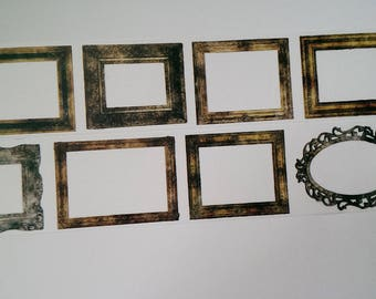 Design Washi tape frame antique vintage