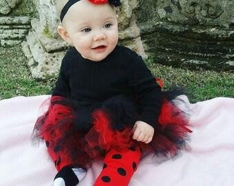 Classic Short Ladybug Tutu Costume