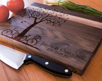 Personalized Cutting Board, Custom engraved cutting board, housewarming gifts, wedding gifts, Christmas gifts