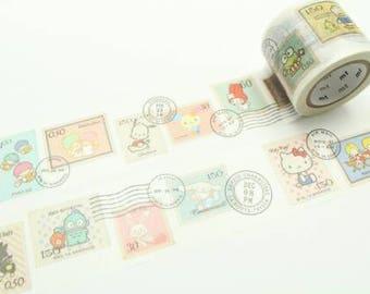 mt x Sanrio stamp