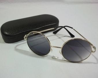 Vintage Sunglasses Round Sunglasses Metal Sun Glasses Full Rim Eyeglass Frames Hippie Sunglasses Retro Eyeglasses Cool Glasses E2 MA7125