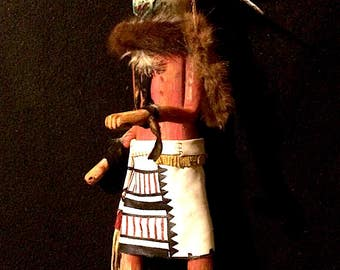Apache Dream Dancer Kachina, Large, Stunning!