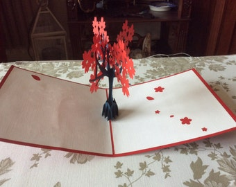 BLOSSOM TREE Thinking of You Pop Up Card